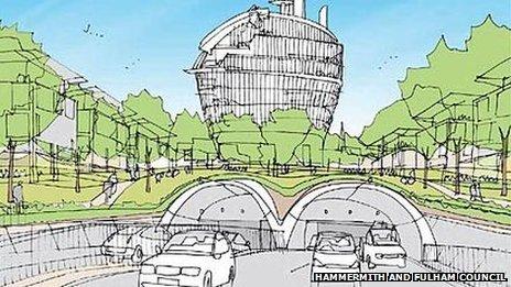 Hammersmith Flyunder Feasibility Study