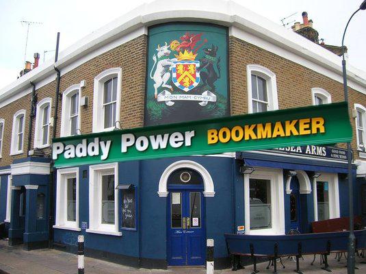 Anglesea Arms Paddy Power 2