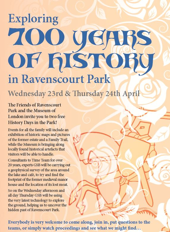 Friends of Ravenscourt Park April Newsletter