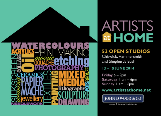 Artists at Home – 13 – 15 June
