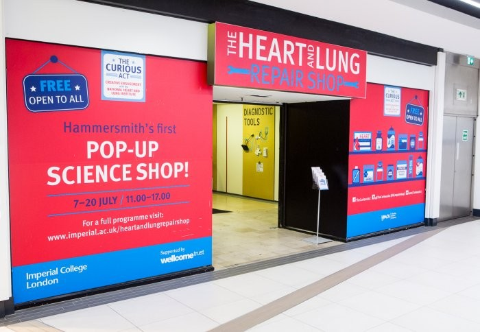 Heart and Lung Convenience Store Pops Up at Kings Mall