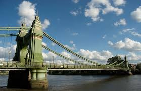 February half term closure of Hammersmith Bridge
