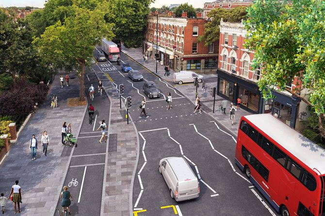 Initial results released for first phase of Cycle SuperHighway 9